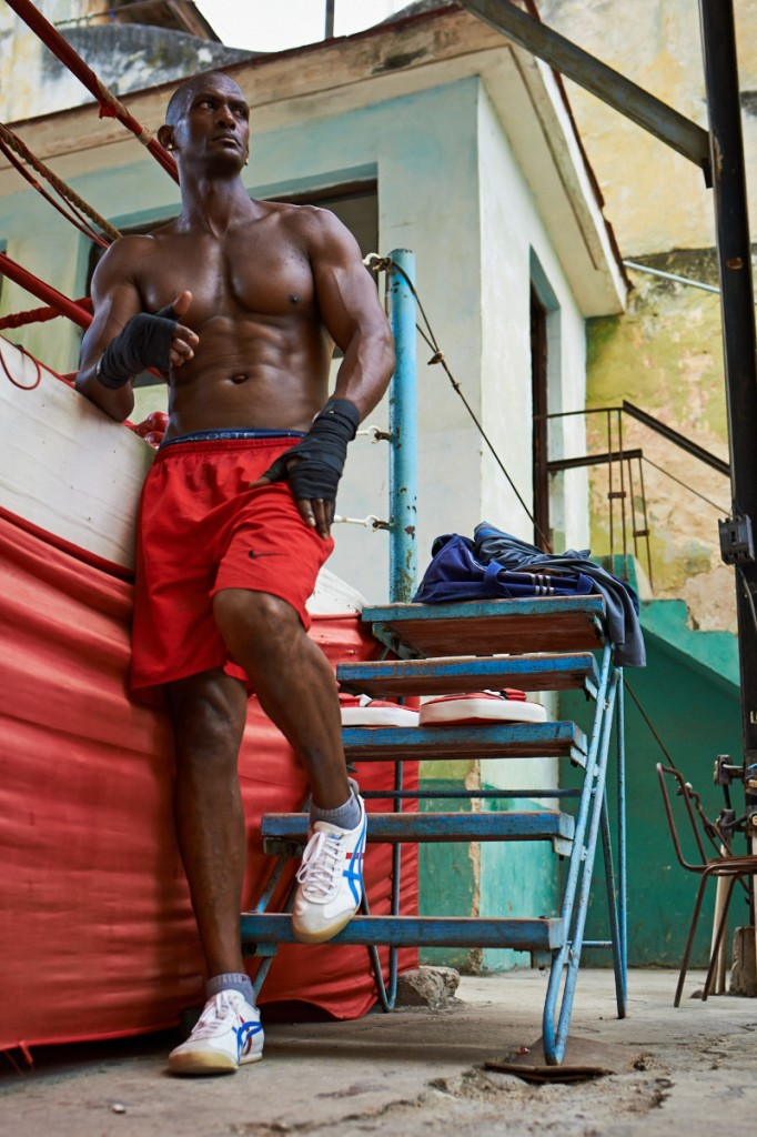 Boxers training. Rafael Trejo Boxing Gym, Havana Cuba.