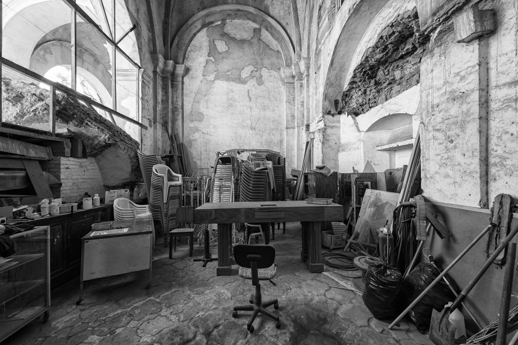 Office in Cathedral.